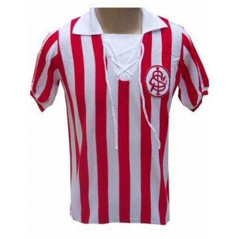 Camisa Retrô Internacional 1910 Cordinha - Confecção em até 18 dias úteis