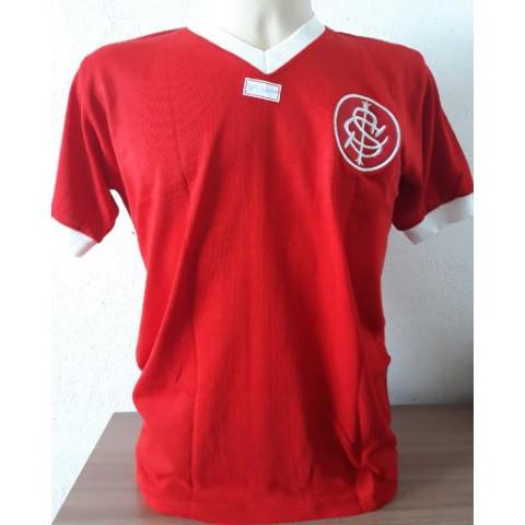 Camisa Retrô Internacional 1975 Figueroa - Confecção em até 18 dias úteis