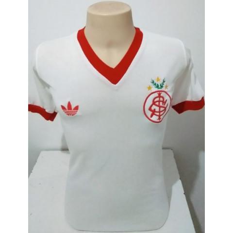 Camisa Retrô Internacional 1981 Branca - Confecção em até 18 dias úteis