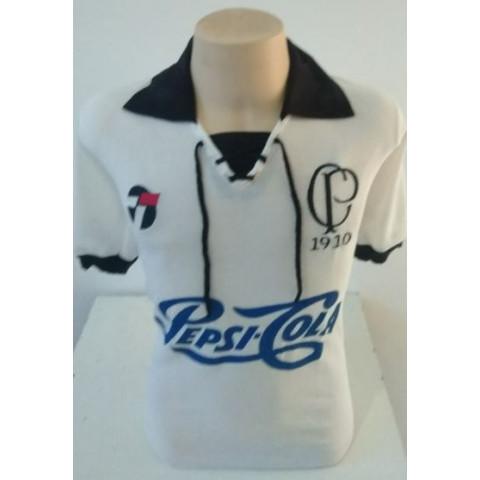 Camisa Retrô do Corinthians 1910 com patrocínio da PEPSI- Confecção em até 18 dias úteis.