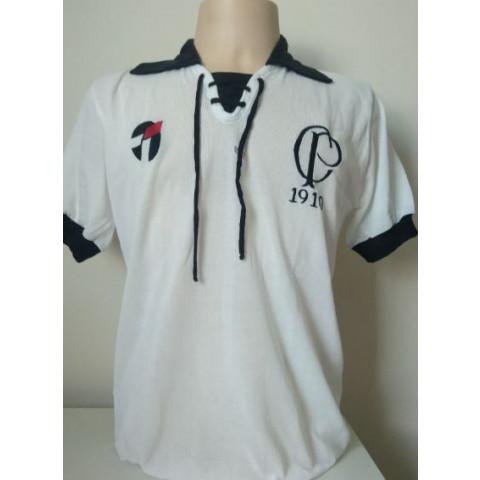 Camisa Retrô do Corinthians 1910 sem PEPSI - Confecção em até 18 dias úteis.