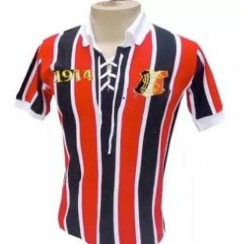 Camisa retrô do Santa Cruz 1914 - Confecção em até 18 dias