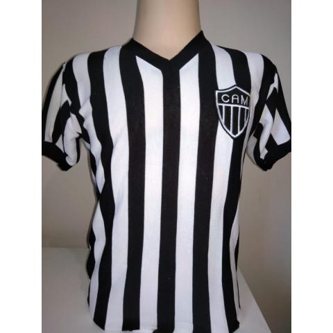 Camisa Retrô do Atlético Mineiro 1930 - Confecção em até 18 dias