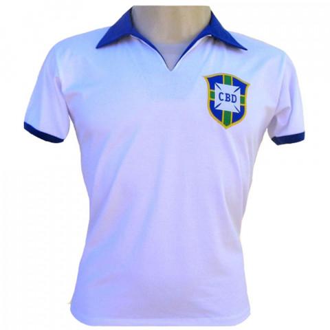 Camisa Retrô da Seleção Brasileira de 1950 - Confecção em até 18 dias úteis.