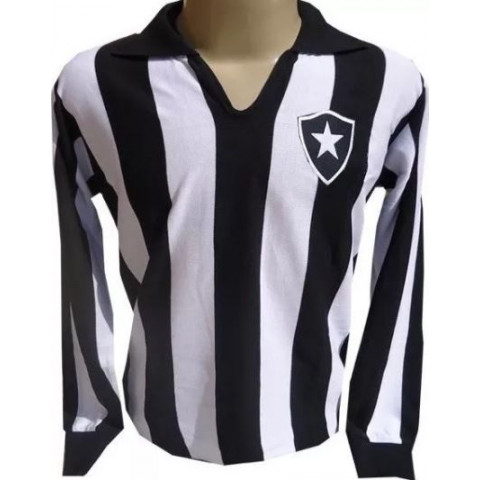 Botafogo 1957 - 1961 Manga Longa - Confecção em até 18 dias úteis