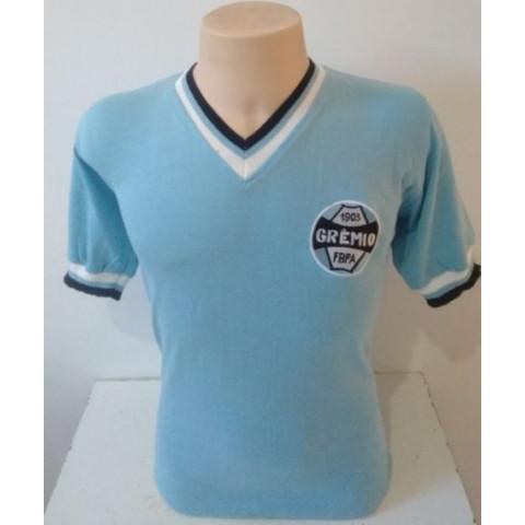 Camisa Retrô do Grêmio 1975  - Confecção em até 18 dias úteis.