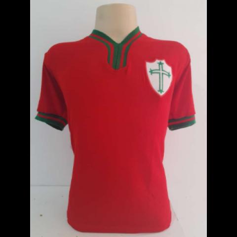 Camisa Retrô da Portuguesa 1976 - Confecção em até 18 dias úteis.