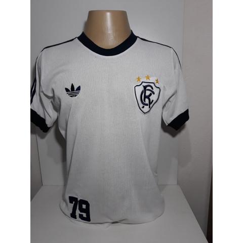 Camisa retrô do Remo 1979 Branca - Confecção em até 18 dias uteis