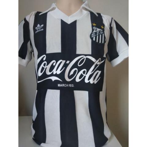 Camisa retrô do Santos 1981 - Confecção em até 18 dias