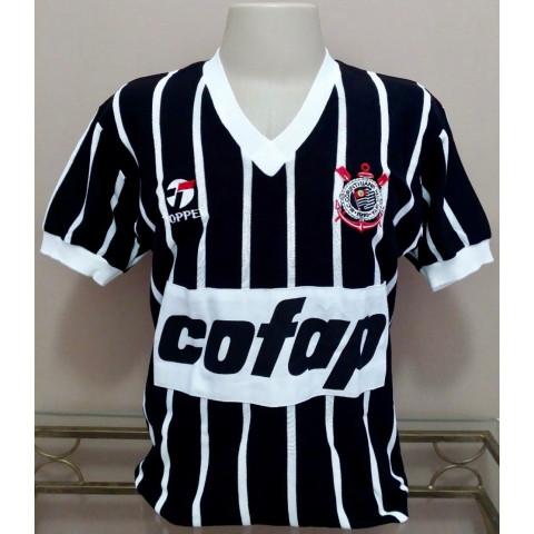 Camisa retrô do Corinthians 1983 Cofap - Confecção em até 18 dias