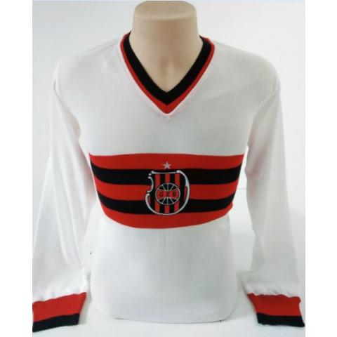 Camisa retrô Brasil de Pelotas 1985 manga longa - Confecção em até 18 dias úteis.