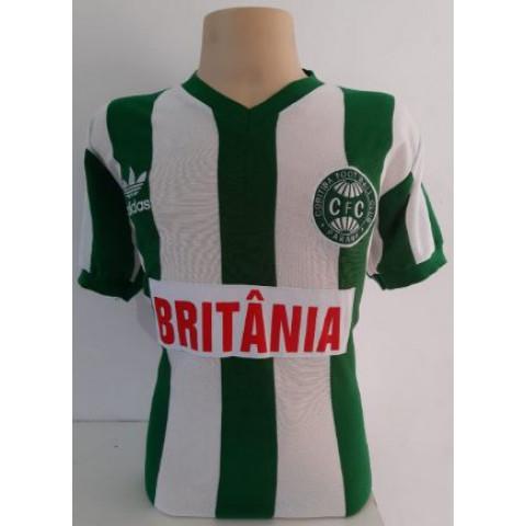 Camisa Retrô do Coritiba 1985 - Confecção em até 18 dias úteis.