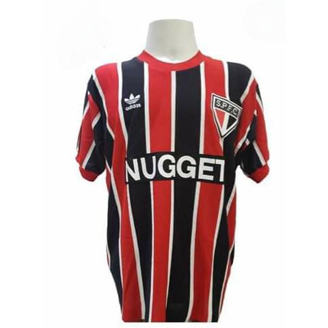Camisa retrô do São Paulo 1986 Nugget - Confecção em até 18 dias