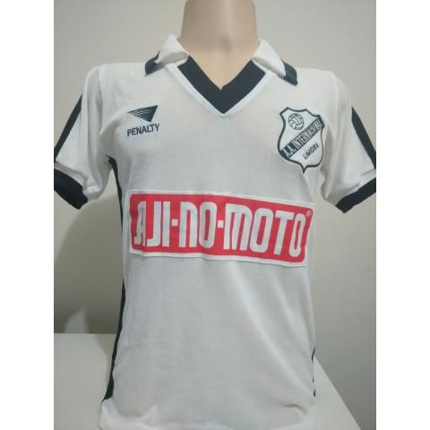 Camisa retrô da Internacional de Limeira 1986 Branca - Confecção em até 18 dias
