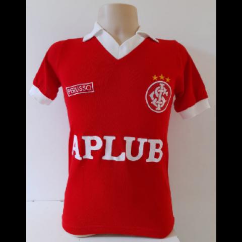 Camisa retrô do Internacional Perusso 1986 - Confecção em até 18 dias uteis
