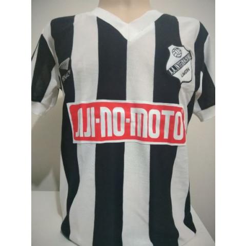 Camisa Retrô da Inter de Limeira 1986 listrada - confecção em até 18 dias úteis