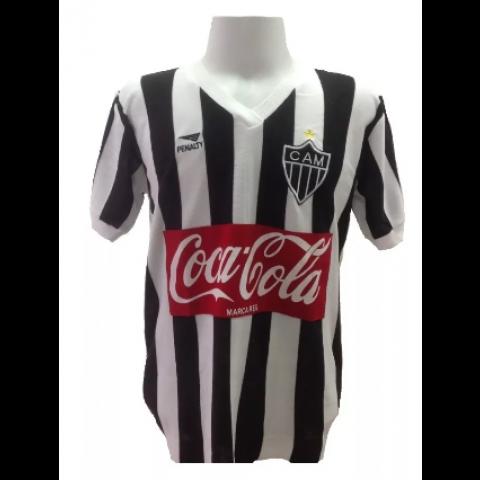 Camisa retrô do Atlético Mineiro 1987 - Confecção em até 18 dias