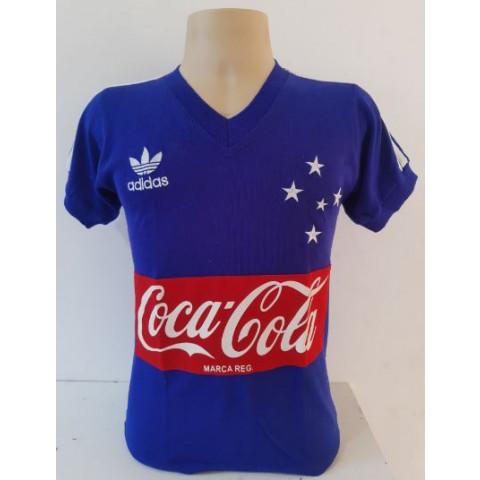 Camisa retrô do Cruzeiro 1988  - Confecção em até 18 dias