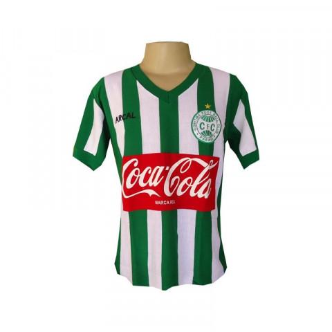 Camisa Retrô do Coritiba 1987 - Confecção em até 18 dias úteis.