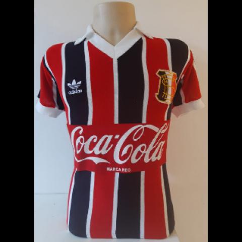 Camisa Retrô do Santa Cruz 1987 Listrada - Confecção em até 18 dias úteis.