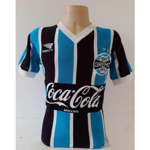 Camisa retrô do Grêmio 1988 - Confecção em até 18 dias úteis.