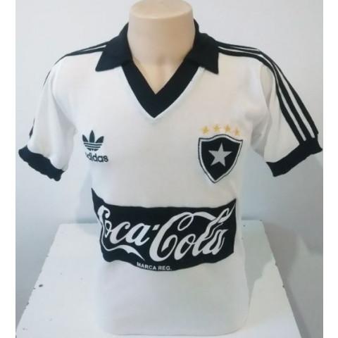Botafogo 1988 Branca Coca cola - Confecção em até 18 dias