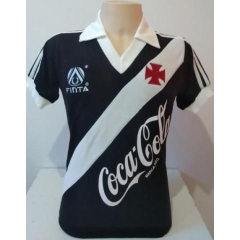 Vasco  1988 Preta Finta Coca cola - Confecção em até 18 dias úteis.