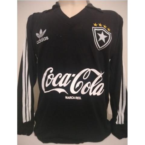 Botafogo Coca Cola preta Manga longa - Confecção em até 18 dias úteis.