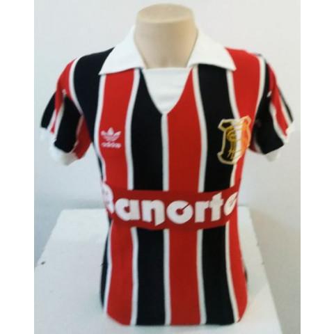 Camisa Retrô do Santa Cruz Banorte 1989/1990 - Confecção em até 18 dias úteis.