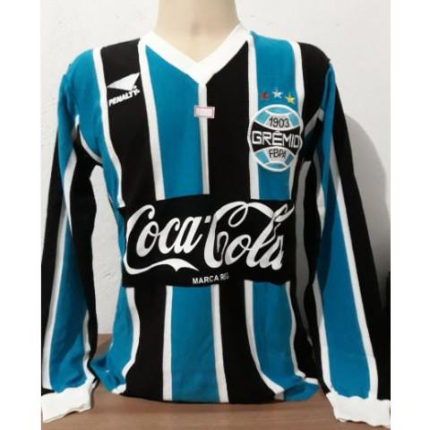 Camisa retrô do Grêmio 1988 Manga Longa - Confecção em até 18 dias úteis.