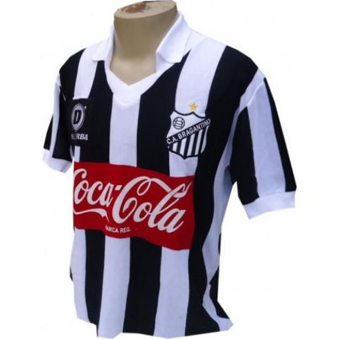 Camisa retrô do Bragantino 1990 - Confecção em até 18 dias
