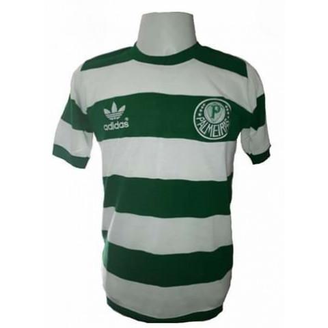 Camisa retrô do Palmeiras 1984 Goleiro MC - Confecção em até 18 dias
