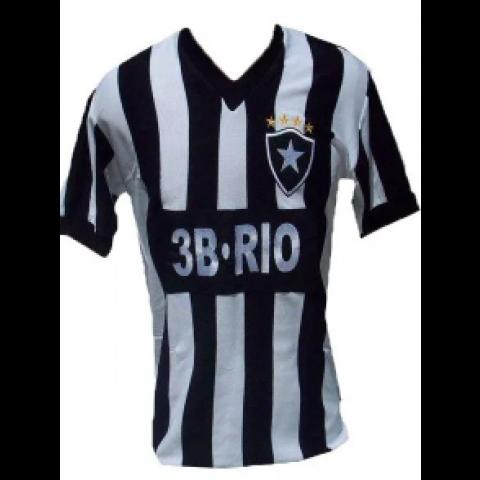 Botafogo 3B Rio Listrada - Confecção em até 18 dias.