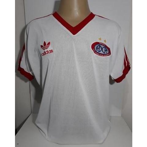 Camisa Retrô do ADC RHODIA 1978 S.J dos Campos Branca - Confecção em até 18 dias úteis.