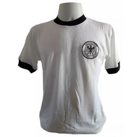 Camisa Retrô da Seleção da Alemanha 1974 - Confecção em até 18 dias úteis.