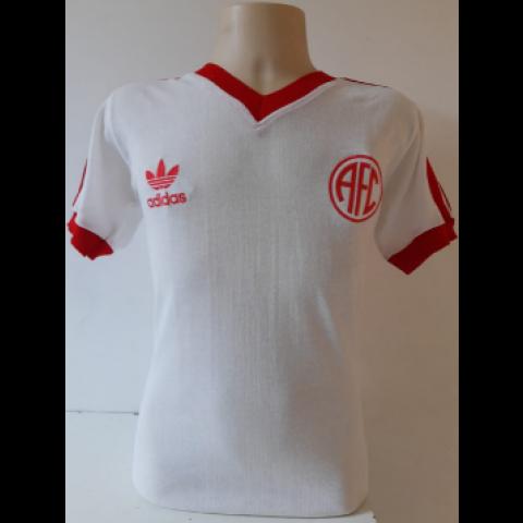 Camisa Retrô do América RJ 1987 Branca - Confecção em até 18 dias úteis.