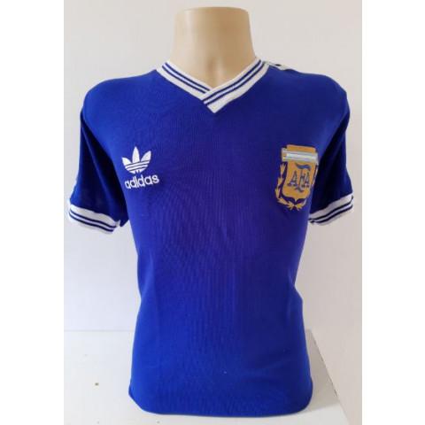 Camisa Retrô da Seleção Argentina 1990 - Confecção em até 18 dias úteis.