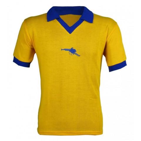 Camisa Retrô do Arsenal Amarela - Confecção em até 18 dias úteis.