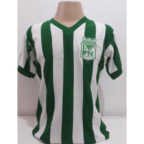 Camisa retrô Atlético Nacional CO - Confecção em até 18 dias uteis