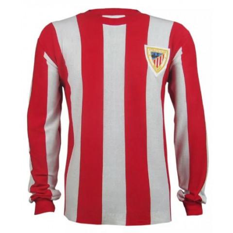 Camisa Retrô do Atlhetic Bilbal manga longa - Confecção em até 18 dias úteis.