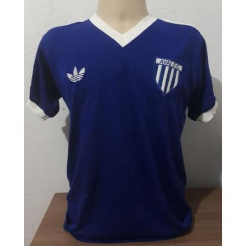 Camisa Retrô do Avaí Azul Marinho - Confecção em até 18 dias úteis.