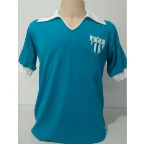 Camisa Retrô do Novo Hamburgo azul - Confecção em até 18 dias úteis.