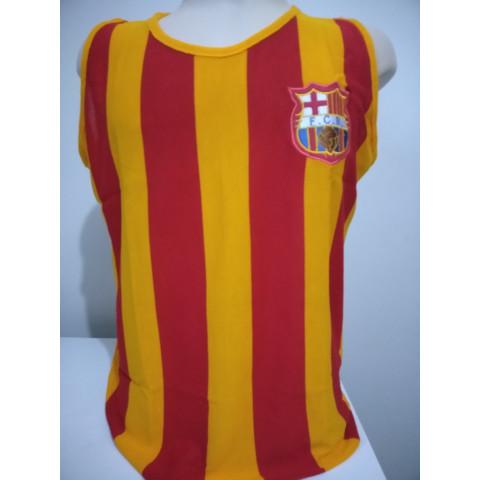 Camisa Retrô do Barcelona regata - Confecção em até 18 dias úteis.