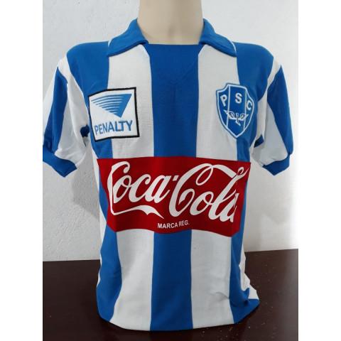 Camisa Retrô Paysandu Coca Cola - Confecção em até 18 dias úteis.