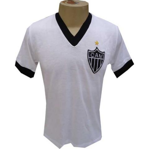 Camisa retrô Atlético Mineiro 1986 branca - Confecção em até 25 dias
