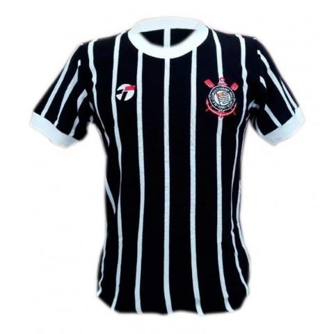 Camisa retrô do Corinthians Democracia 1983- Confecção em até 18 dias