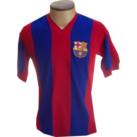 Camisa Retrô do Barcelona década de 70 - Confecção em até 25 dias úteis.