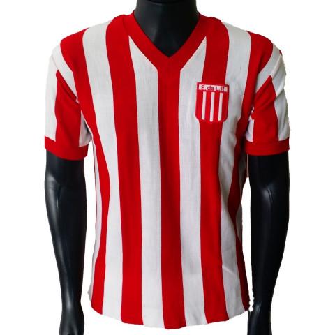Camisa Retrô Estudiantes de La Plata- ARG - Confecção em até 18 dias úteis