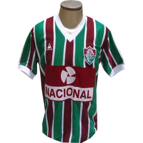 Fluminense 1984 Banco Nacional - Confecção em até 18 dias úteis.