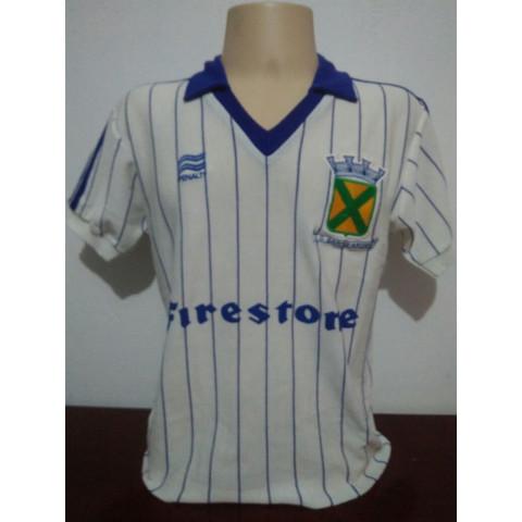 Camisa Retrô do Santo André 1985 Branca - Confecção em até 18 dias